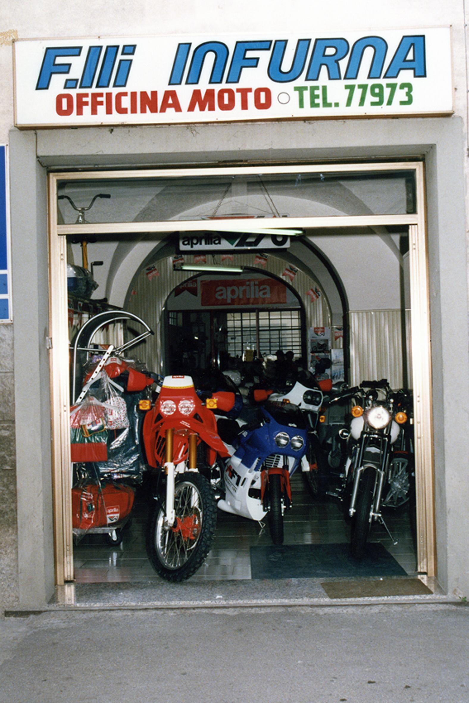 01- L'officina in via Chiarugi
