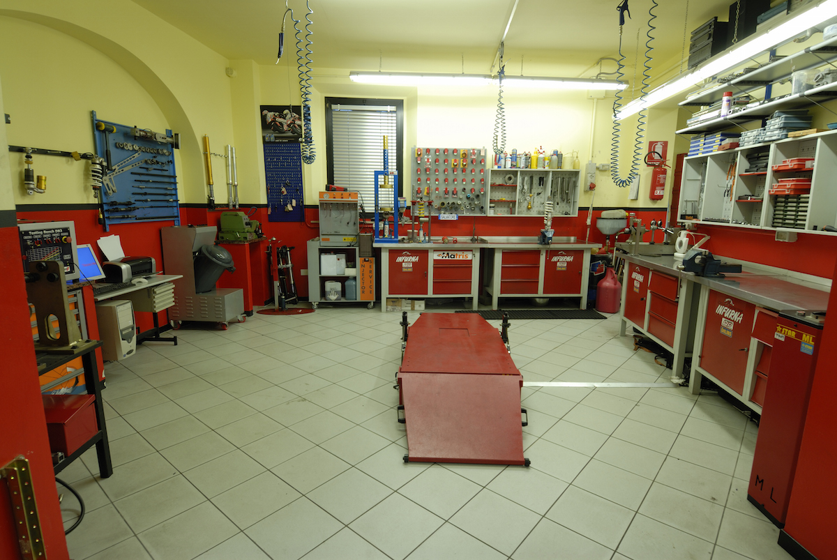 La sala sospensioni